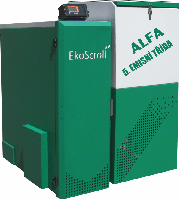 EkoScroll ALFA 28 kW PELLET - Black Friday